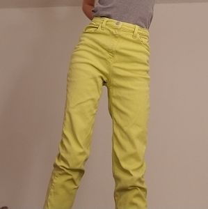 BDG neon yellow jeans